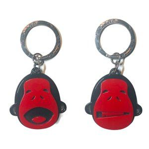 New Kipling Mascot Charm Key ring unisex